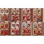 Creotime 3D vellen Kerstmis 21x30 cm 16 stuks