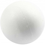 Creotime styropor-model Ballen 12 cm wit 25 stuks