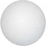 Creotime styropor-model Ballen 3 cm wit 100 stuks