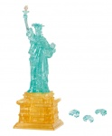 Crystal Puzzle 3D-puzzel Vrijheidsbeeld goud/blauw 78 stukjes