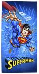 DC Comics badhanddoek Superman jongens 70 x 140 cm katoen blauw