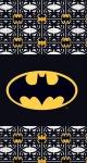 DC Comics badlaken Batman zwart 70 x 140 cm