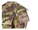 Defcon 5 badgehouder 12 x 13 cm polyester legergroen