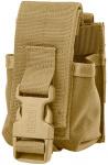 Defcon 5 granaathouder 6 x 12 cm polyester beige