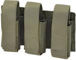 Defcon 5 granaathouder driedubbel 21 x 14 cm polyester legergroen