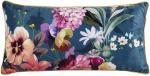Descanso sierkussen Novara 60 x 30 cm polyester blauw