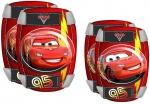 Disney knie- en elleboogbeschermers Cars rood maat S