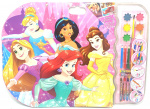 Disney kleurset Prinsessen XXXL meisjes 53 x 58 cm 27-delig