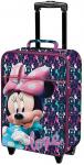 Disney trolley Minnie Mouse 32 liter polyester blauw/roze