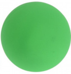 Dogs Collection bal glow in the dark hond 9 cm pvc groen