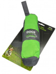 Dogs Collection hondenspeelgoed etui 25 cm kunstleer groen