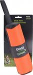 Dogs Collection hondenspeelgoed etui 25 cm kunstleer oranje