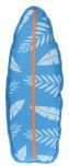 Dogs Collection piepspeelgoed surfboard palmboom 43 cm lichtblauw