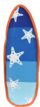 Dogs Collection piepspeelgoed surfboard ster 43 cm blauw/wit
