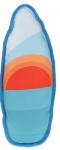 Dogs Collection piepspeelgoed surfboard zon 43 cm oranje/rood