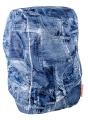 DripDropBag regenhoes voor rugzak jeans blauw 55 x 40 x 15 cm