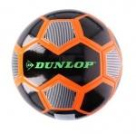 Dunlop voetbal PVC maat 5 zwart/oranje