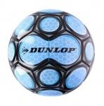 Dunlop voetbal PVC maat 5 lichtblauw/zwart
