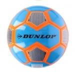 Dunlop voetbal PVC maat 5 blauw/oranje
