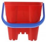 écoiffier emmer zandkasteel rood 19 x 19 x 21 cm