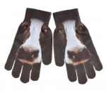 Esschert Design handschoenen koe junior zwart one-size