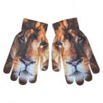 Esschert Design handschoenen leeuw junior oranje one-size