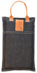 Esschert Design kniekussen 25 x 40 cm katoen/polyester blauw