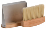 Esschert Design tafelstoffer en blik hout/zink naturel/zilver