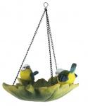 Esschert Design vogelbad 27 x 23,1 cm polyresin groen