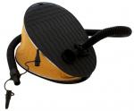 Eurotrail voetpomp 5 liter polyester 30 cm zwart/geel 4-delig
