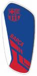 FC Barcelona scheenbeschermers Merchandise EVA blauw mt M