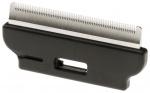 Ferplast dierentrimmer 7 x 3 cm staal/rubber zwart/wit