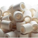 Ferplast filterringen Blurings biologsich 500 gram keramiek wit