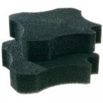 Ferplast actieve koolsponzen Bluclear 1500 21 cm zwart 2 stuks