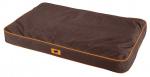 Ferplast hondenbed Polo 95 x 60 cm polyester/textiel bruin