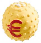 Ferplast hondenspeelgoed bal 5 cm latex geel