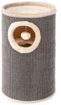 Ferplast krabpaal met bal 36 x 50 cm sisal/bont grijs/beige