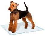 Ferplast trainingpads hond 60 x 60 cm textiel wit 10 stuks