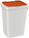 Ferplast voedselopslag Feedy 13 liter wit/oranje