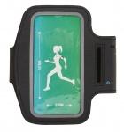 Fit Essentials smartphone sportarmband zwart 4,7 inch