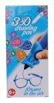Free and Easy 3D-tekenpen blauw 14 x 5,5 x 3,5 cm
