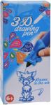 Free and Easy 3D-tekenpen blauw kat 14 x 5,5 x 3,5 cm