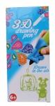 Free and Easy 3D-tekenpen groen 14 x 5,5 x 3,5 cm
