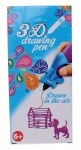 Free and Easy 3D-tekenpen paars 14 x 5,5 x 3,5 cm