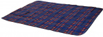 Free and Easy picknickkleed fleece 2-zijdig 130x160 cm blauw