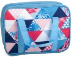 Gerimport koeltas 28 x 22 cm 5 liter polyester blauw/rood