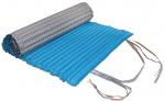 Gerimport strandmatje 180 x 60 cm polyester/spons blawu