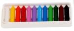 Alpino waskrijt Dacs gekleurd 10 x 53 mm junior 12 stuks