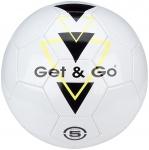 Get & Go Voetbal Triangle Speed PVC leder wit