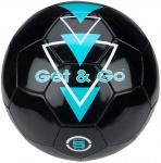 Get & Go Voetbal Triangle Speed PVC leder zwart